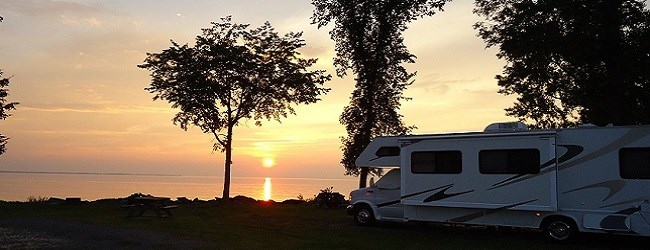 Sundown on RV