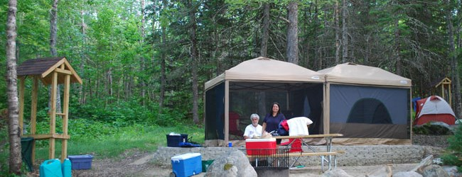 New Premium Water & Electric Tent Sites