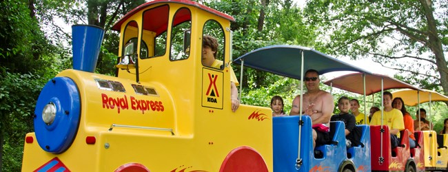Take a ride on the Royal Express
