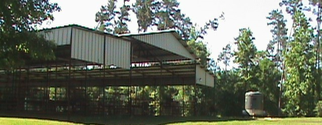 Large Event Pavillion and Horse Barn
