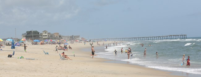 Enjoying a perfect Hatteras day!