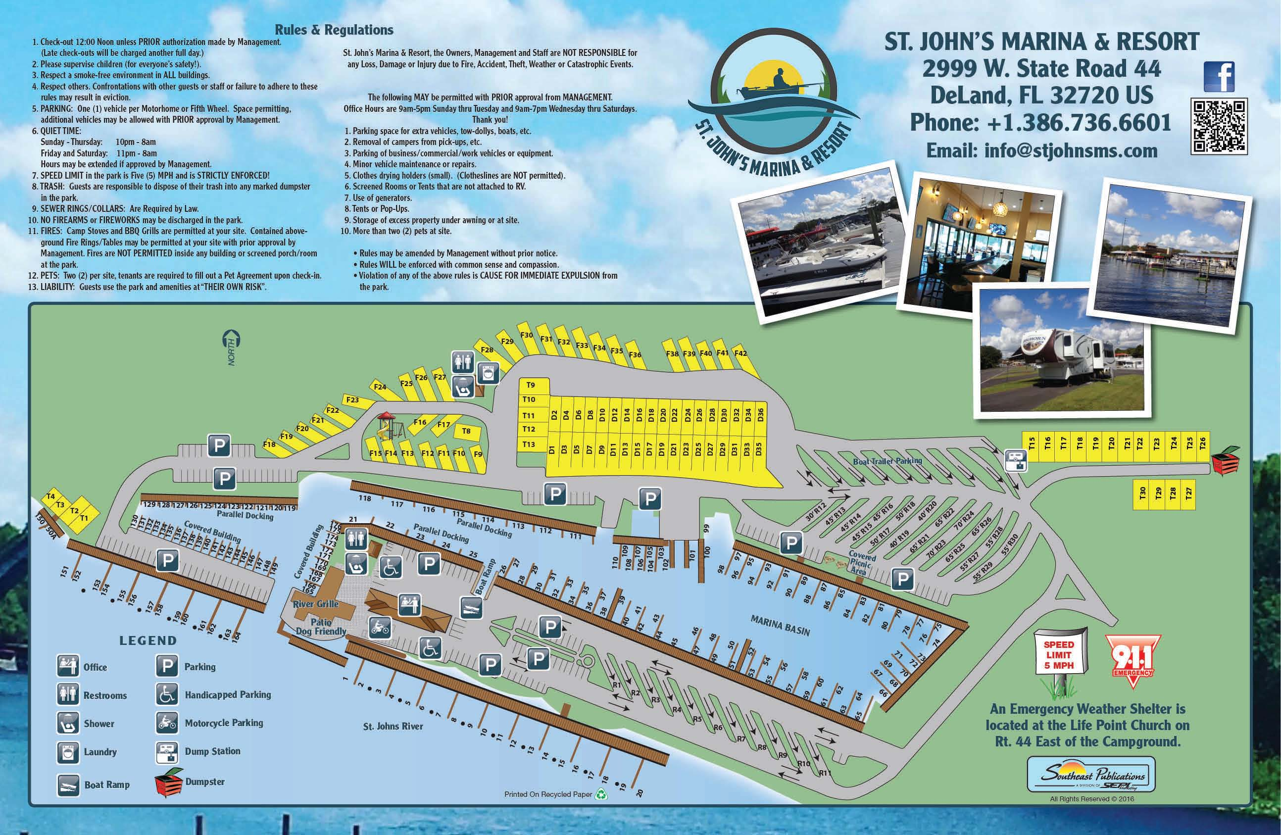 Deland florida campground deland st johns river koa for St johns river fish camps