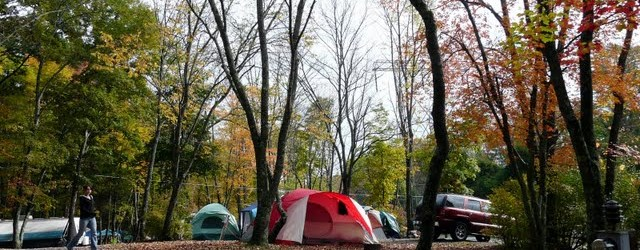 Group Tent camping