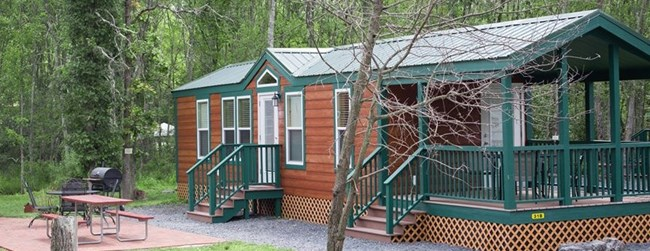 Deluxe Large Family Cabin with Patio