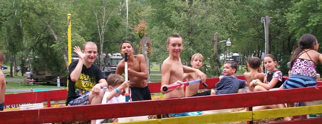 Wet 'n Wild Hayride at the KOA