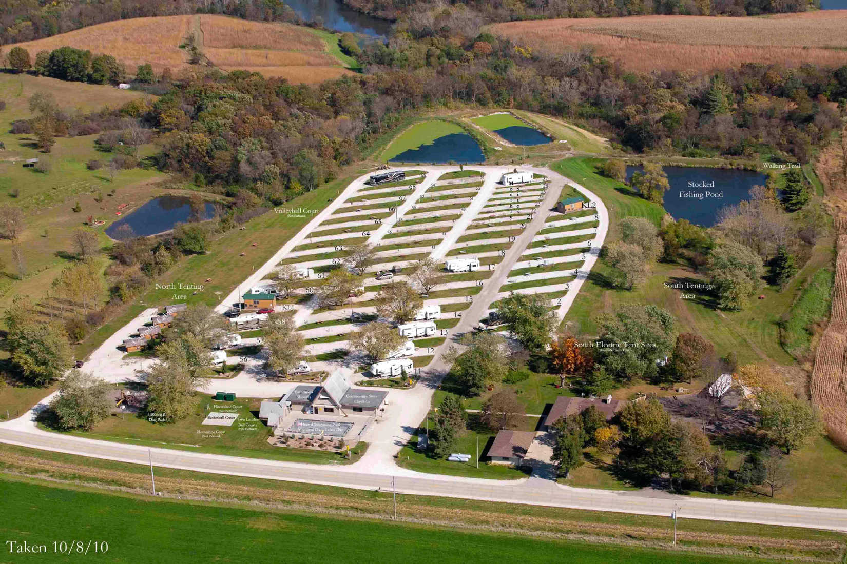 Adel Iowa Tent Camping Sites Des Moines West Koa