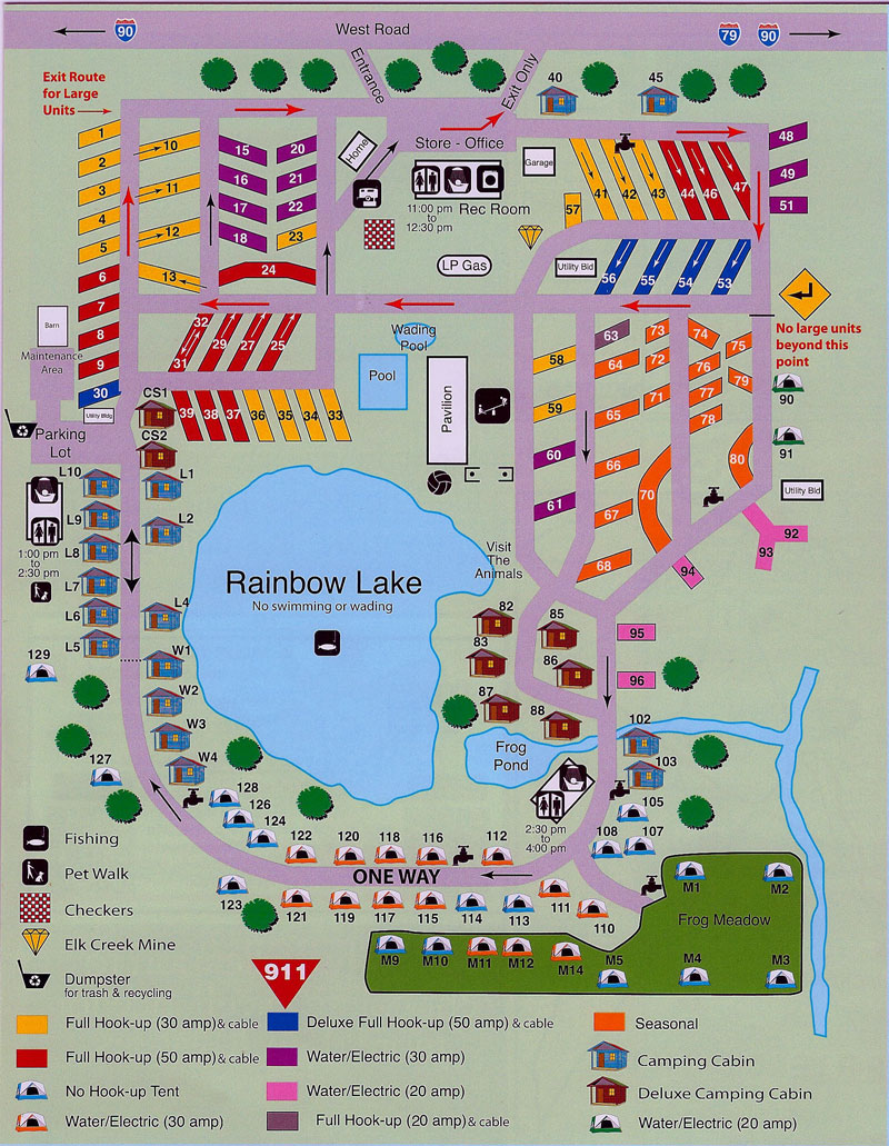 Activities, attractions and events for the Erie KOA RV ...