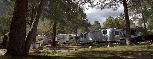 Camping Under the San Francisco Peaks Flagstaff