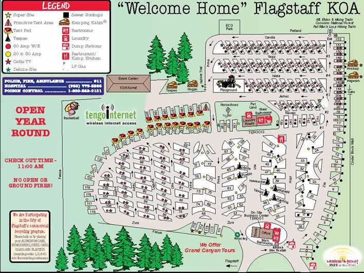 Activities Attractions And Events For The Flagstaff Koa