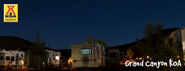 Night Skies at the Grand Canyon KOA