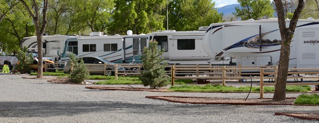 Spacious RV Sites