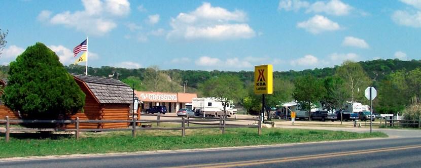 Kerrville Texas Campground Kerrville Koa