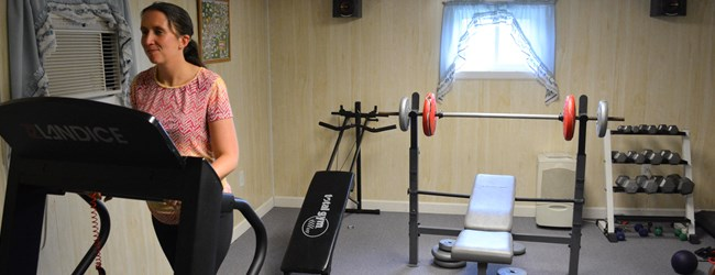 Get Fit in Our Exercise Room
