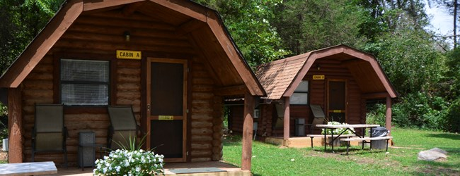 1 Room Camping Cabins