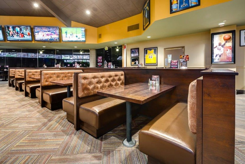 Learn more about Finish Line Sports Grill, Opens a popup Specialties Spend your day at the Finish Line Sports Bar & Grill enjoying the new inter-track wagering screens, state-of-the-art TVs & sound system and the all-new Club Lounge.3/5(92).