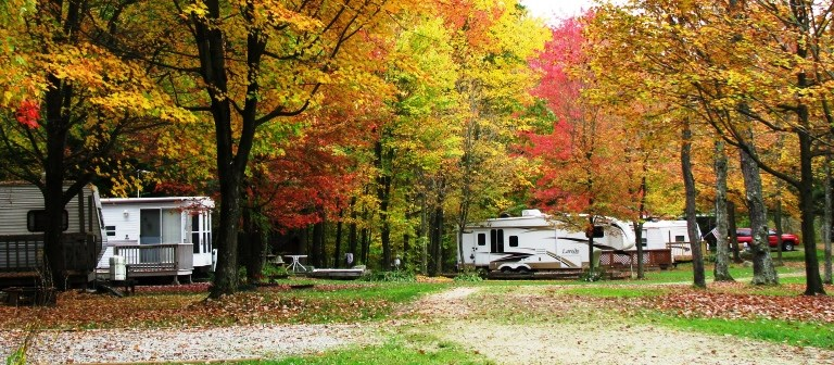 Seasonal RV Sites #220-202 Even