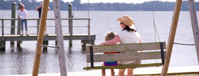Swing Your Cares Away by the Neuse River