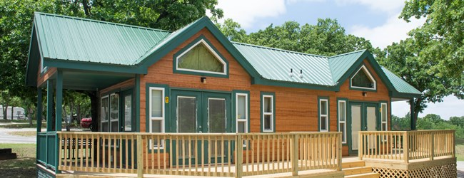 Top campground sites near your okc apartment the retreat for Camping cabins in oklahoma