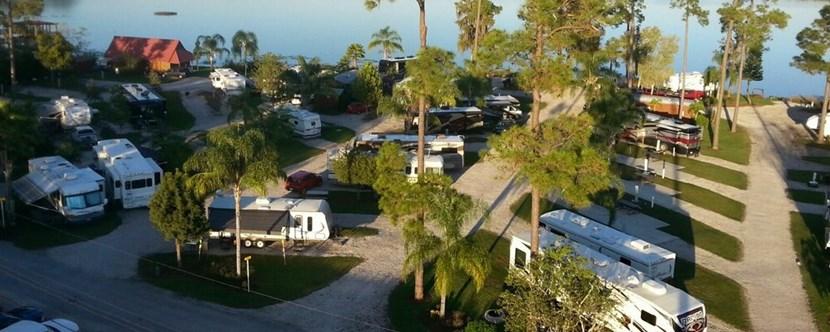 Orlando Florida Campground Orlando Se Lake