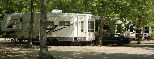 Sites for Everyone...RV's, Tents, Kabins, Lodges and Rental Trailers