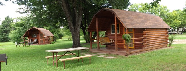 Sallisaw oklahoma campground sallisaw fort smith west koa for Camping cabins in oklahoma