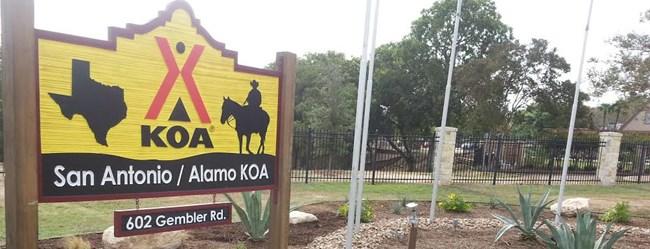 San Antonio Koa Camping In Texas Koa Campgrounds