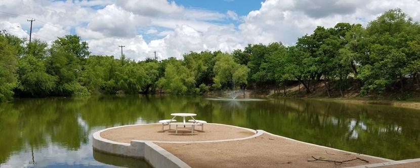 San antonio texas campground san antonio koa for Fishing ponds in san antonio