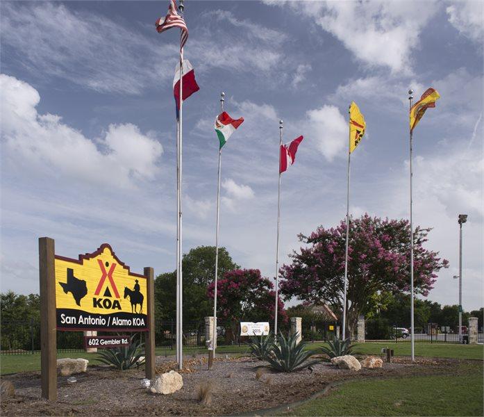 San Antonio Texas Campground