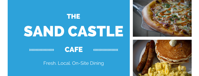 New Restaurant at the Sand Castle Cafe
