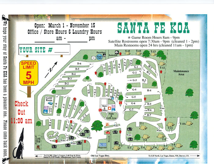 Activities Attractions And Events For The Santa Fe Koa Rv