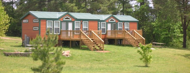New Lodges sleep 4-6
