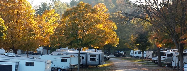 Autumn Camping at It's Best-The St. Louis West KOA