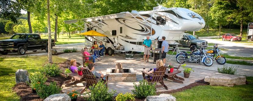 Eureka Missouri Campground St Louis West Historic