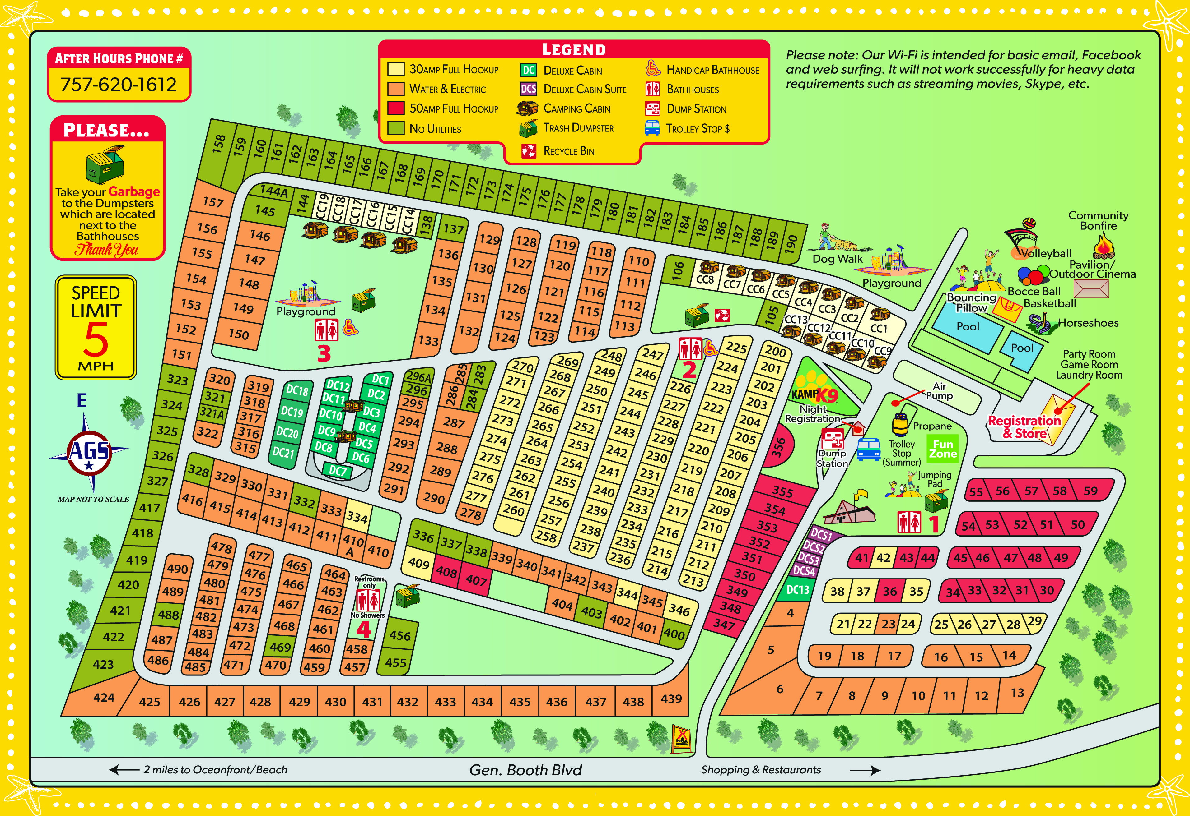 ... attractions and events for the Virginia Beach KOA RV Park in Virginia