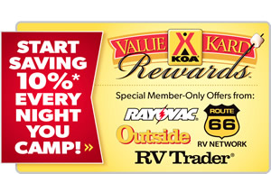 Save 10% off Camping with VKR