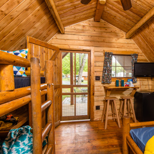 Cabin camping camping cabin rentals koa campgrounds for Camp sites with cabins
