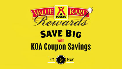 KOA has over campgrounds across North America, with friendly service and great amenities. Check out our list of frequently asked question about our campgrounds, Value Kard Rewards program, policies and more. If you still have questions, contact us! We're always happy to help.