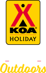 KOA Holiday Campgrounds Logo