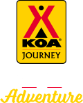 KOA Journey Campgrounds Logo