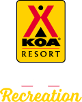 KOA Resort Campgrounds Logo
