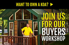 Own a KOA Buyer's Workshop