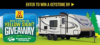 Enter to Win a Keystone RV