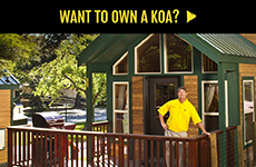 Want to Own a KOA?