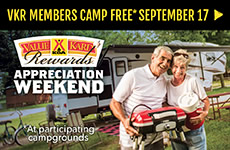 VKR Members Camp Free VKR Appreciation Weekend