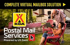 KOA Postal Mail Services