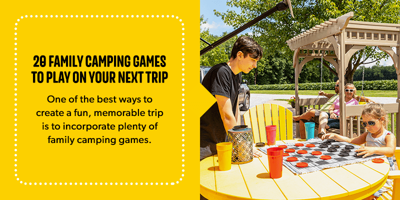 20 Camping Games For Families Kids Games For Camping Trips Koa Camping Blog