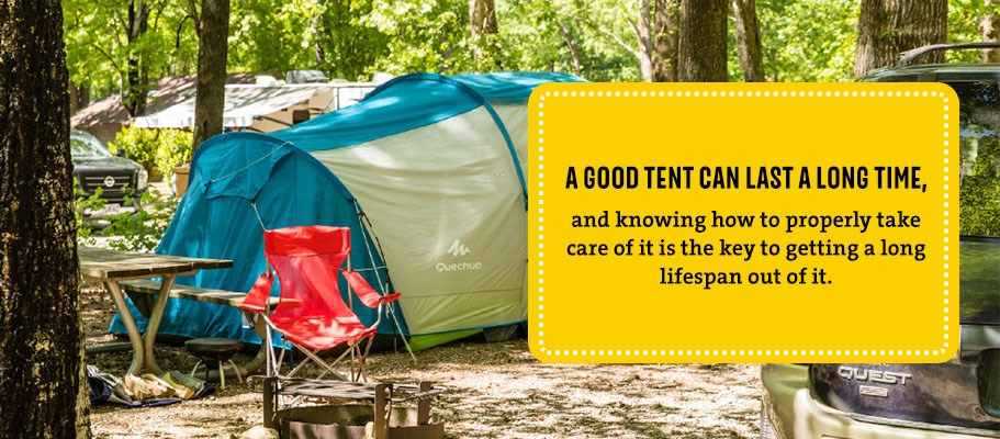 Tent Care, Maintenance & Common Repairs