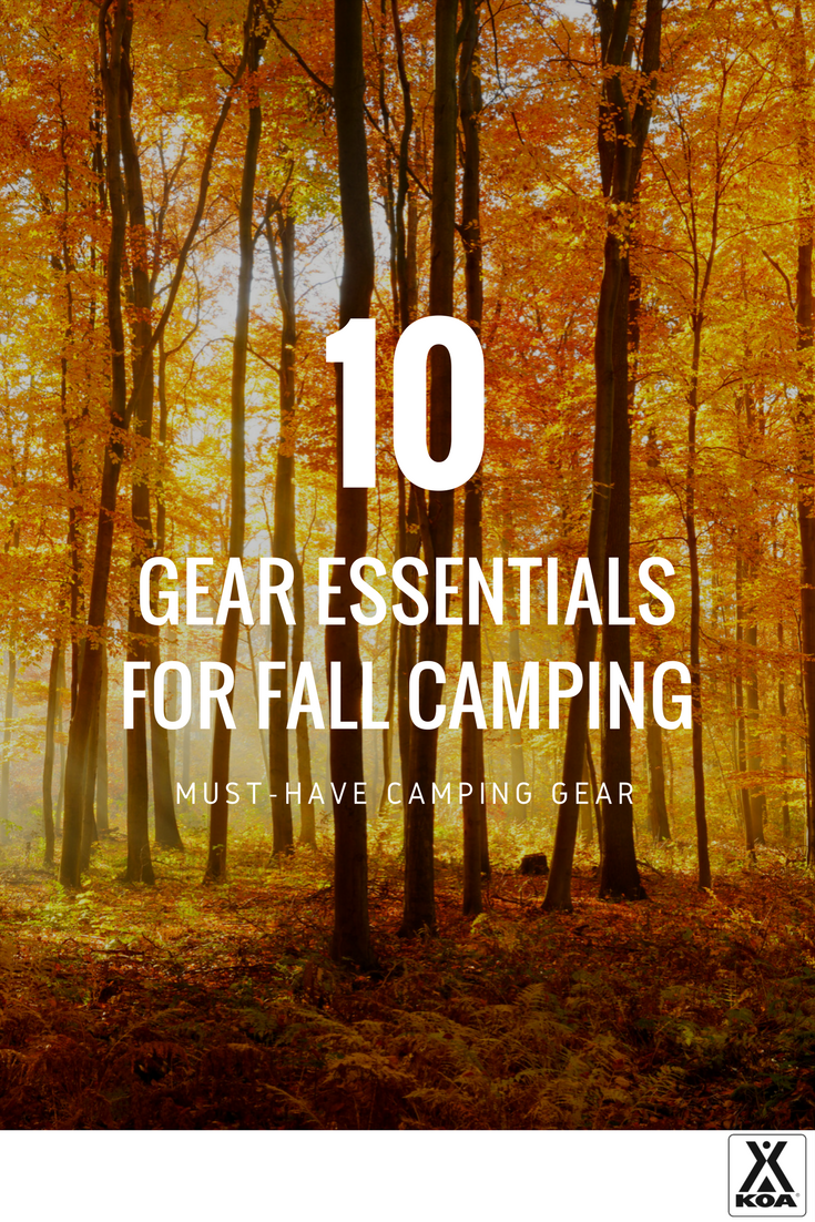 10 Fall Camping Essentials - You need this gear!