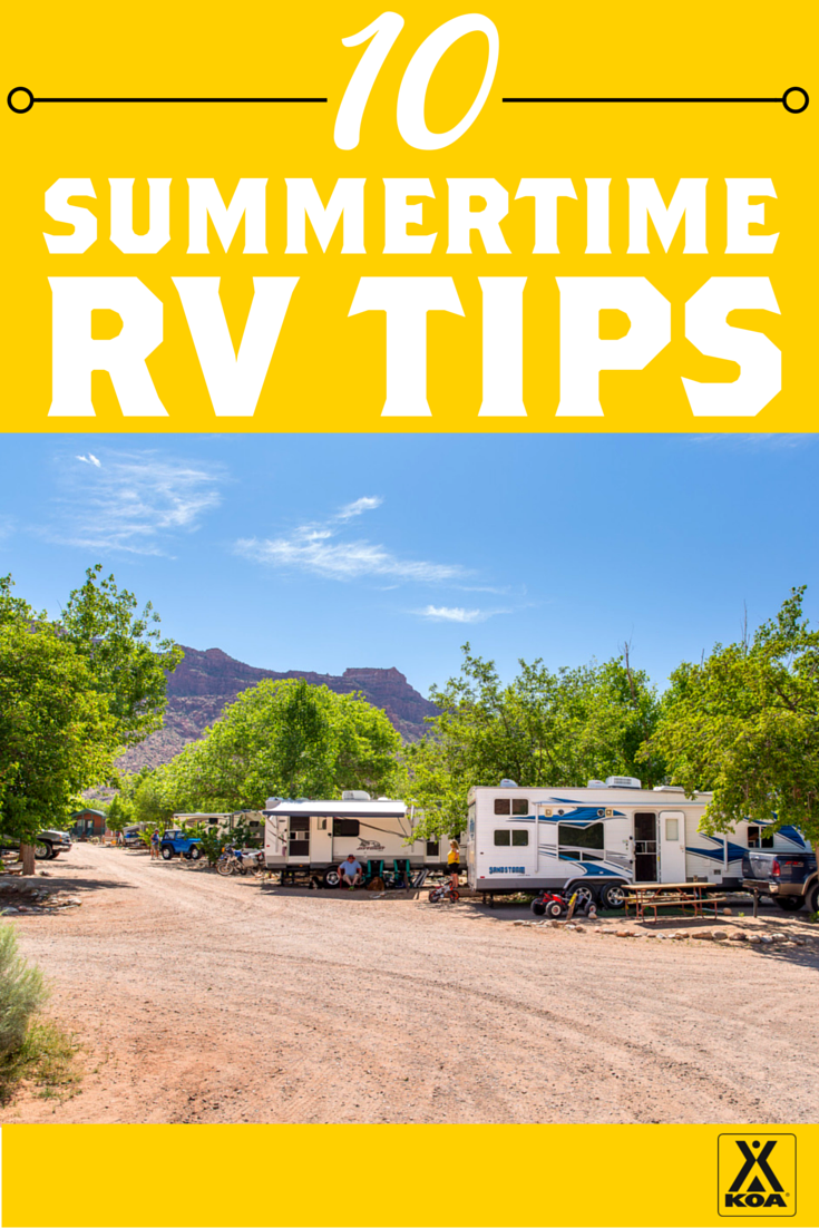 10 Summertime RV Tips