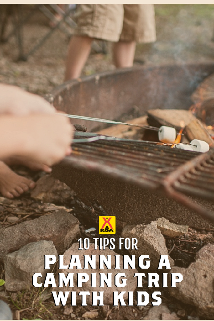 10 Tips for Planning a Camping Trip with Kids